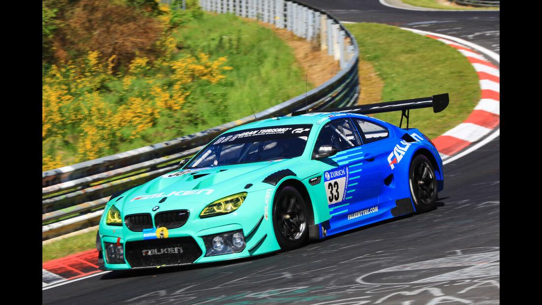 24h-Rennen Nürburgring 2017 - Nordschleife - Startnummer 33 - BMW M6 GT3 - Falken Motorsports - Klasse SP 9