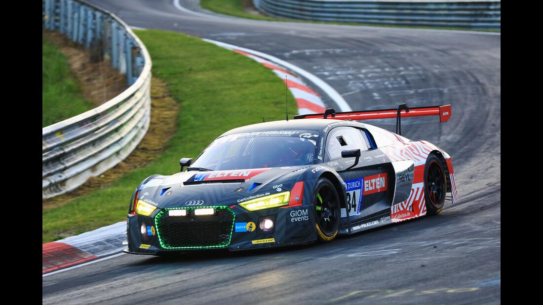 24h-Rennen Nürburgring 2017 - Nordschleife - Startnummer 34 - Audi R8 LMS - Car Collection Motorsport - Klasse SP 9