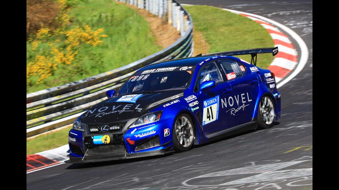 24h-Rennen Nürburgring 2017 - Nordschleife - Startnummer 41 - Lexus ISF CCS-R - NOVEL - Klasse SP 8