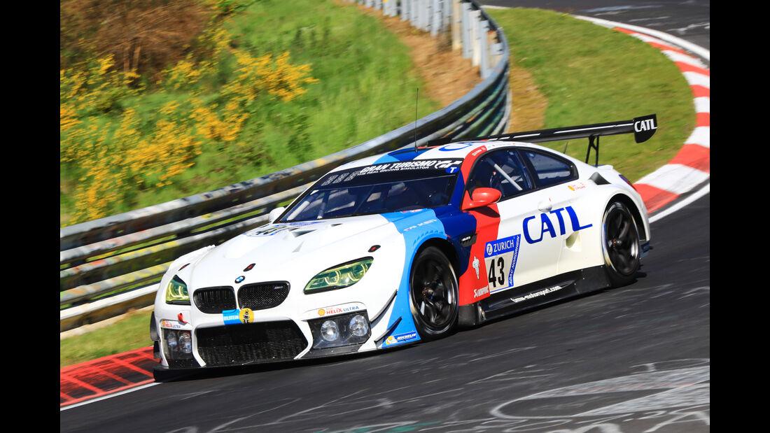 24h-Rennen Nürburgring 2017 - Nordschleife - Startnummer 43 - BMW M6 GT3 - BMW Team Schnitzer - Klasse SP 9