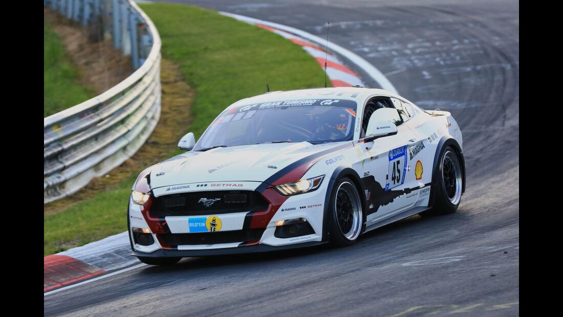 24h-Rennen Nürburgring 2017 - Nordschleife - Startnummer 45 - Ford Mustang GT - TIC racing - Klasse SP 8