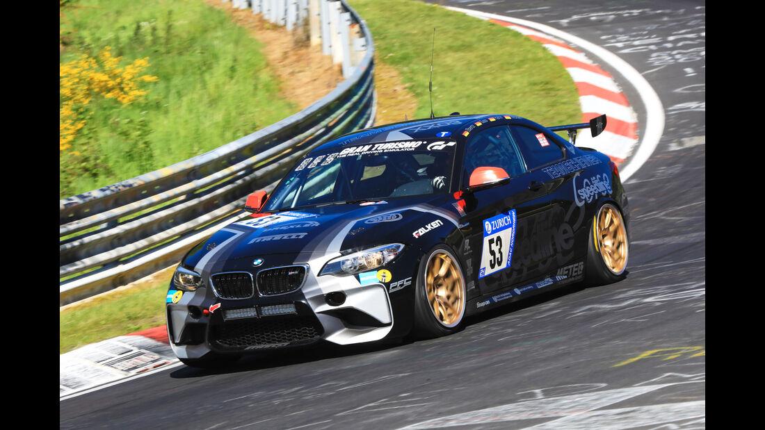 24h-Rennen Nürburgring 2017 - Nordschleife - Startnummer 53 - BMW M2 - Team Schirmer - Klasse SP 8T