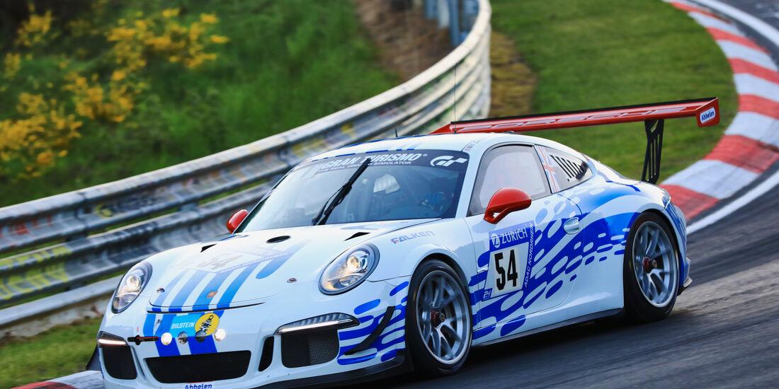 24h-Rennen Nürburgring 2017 - Nordschleife - Startnummer 54 - Porsche 911 Carrera Cup - Klasse SP 7