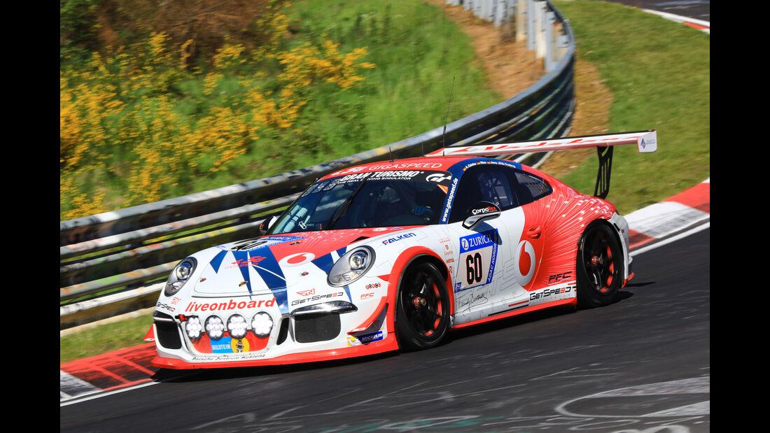 24h-Rennen Nürburgring 2017 - Nordschleife - Startnummer 60 - Porsche 911 GT3 Cup (991) - Gigaspeed Team GetSpeed Performance - Klasse SP 7