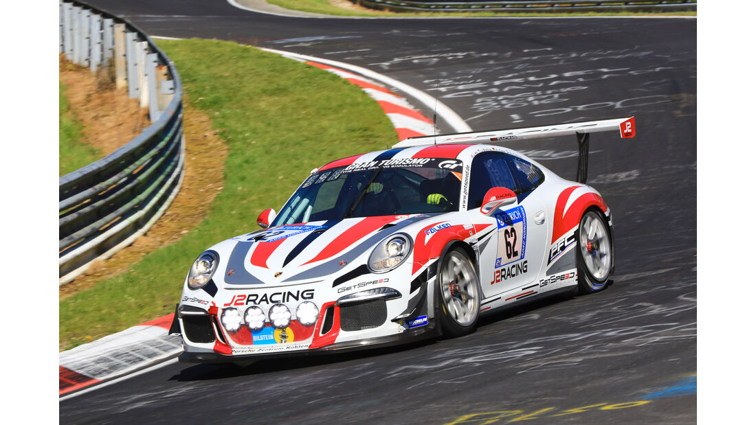 24h-Rennen Nürburgring 2017 - Nordschleife - Startnummer 62 - Porsche 911 GT3 Cup (991) - Gigaspeed Team GetSpeed Performance - Klasse SP 7