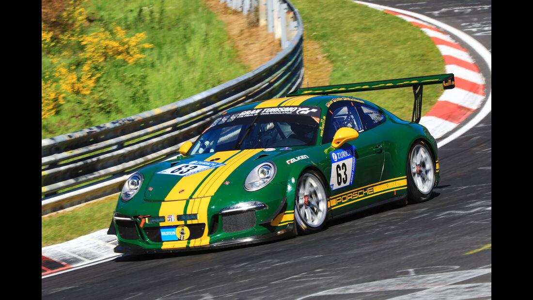 24h-Rennen Nürburgring 2017 - Nordschleife - Startnummer 63 - Porsche 911 GT3 Cup - Goder - Klasse SP 7