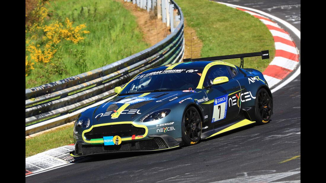 24h-Rennen Nürburgring 2017 - Nordschleife - Startnummer 7 - Aston Martin GT8 -Aston Martin Lagonda - Klasse SP 8