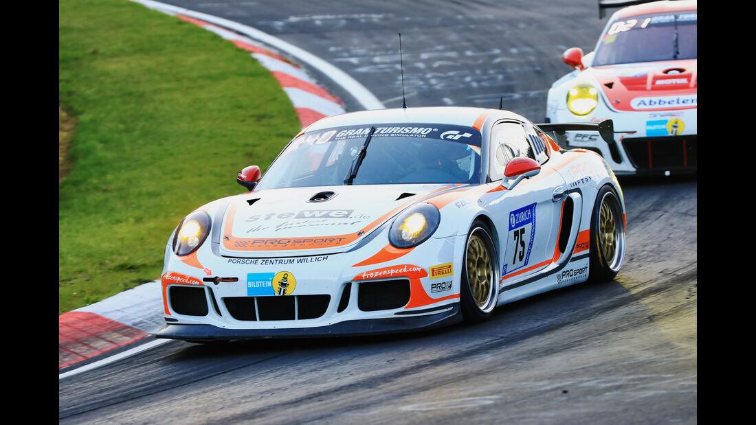 24h-Rennen Nürburgring 2017 - Nordschleife - Startnummer 75 - Porsche Cayman - Prosport Performance - Klasse Sp-X