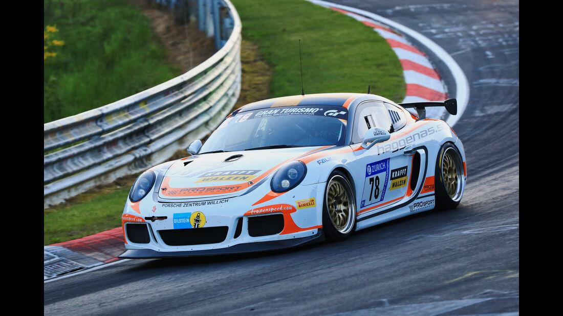 24h-Rennen Nürburgring 2017 - Nordschleife - Startnummer 78 - Porsche Cayman - Prosport Performance - Klasse Sp 6