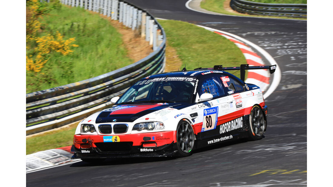 24h-Rennen Nürburgring 2017 - Nordschleife - Startnummer 80 - BMW M3 GTR -Hofor-Racing - Klasse SP 6