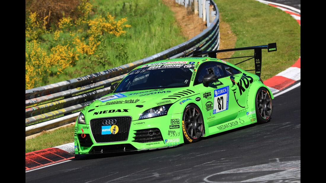 24h-Rennen Nürburgring 2017 - Nordschleife - Startnummer 87 - Audi TT - MSC Sinzig e.V. im ADAC - Klasse Sp 3T