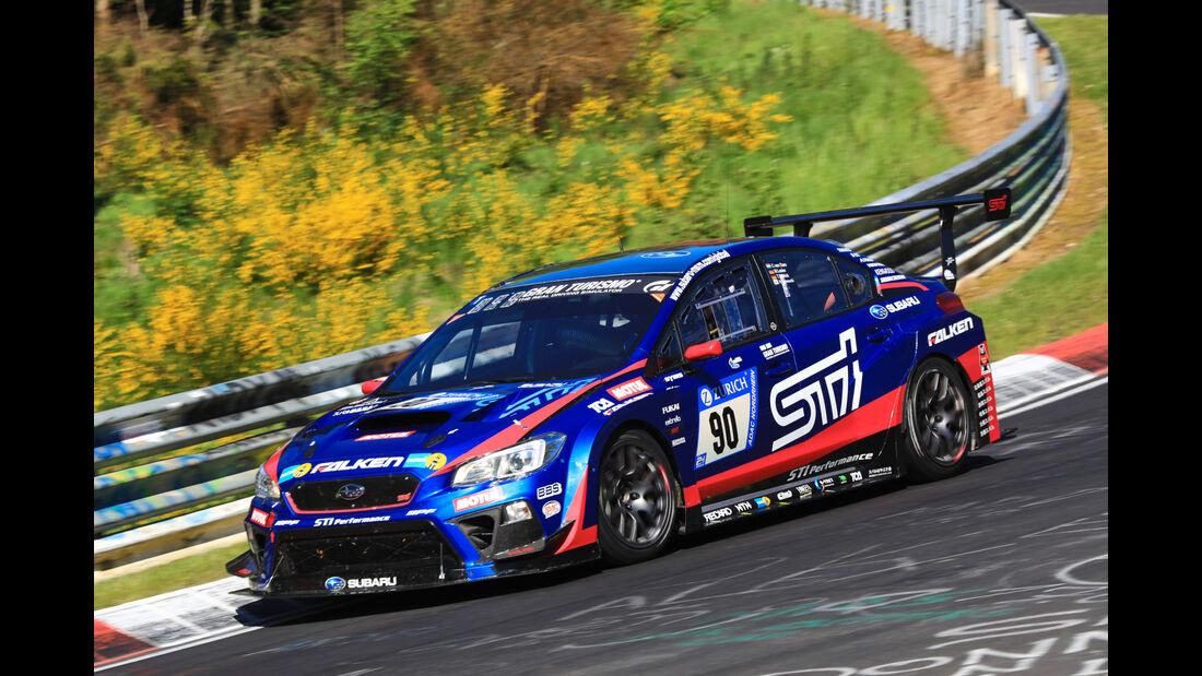 24h-Rennen Nürburgring 2017 - Nordschleife - Startnummer 90 - Subaru WRS STI - Subaru Tecnica International - Klasse SP 3T
