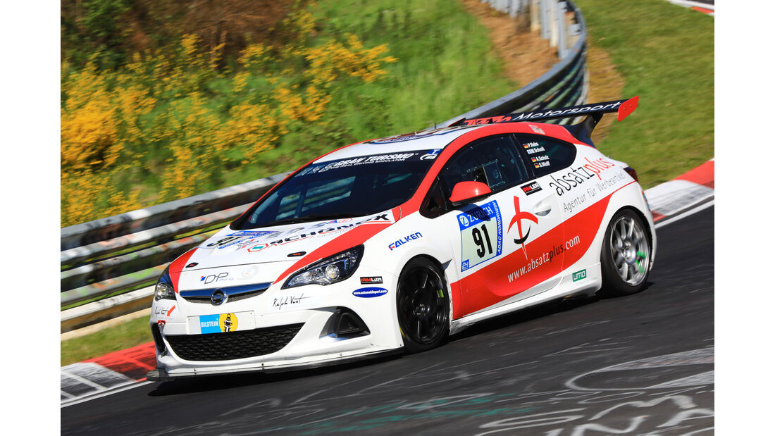 24h-Rennen Nürburgring 2017 - Nordschleife - Startnummer 91 - Opel Astra J OPC - SW-Racing - Klasse SP 3T