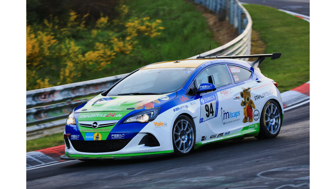 24h-Rennen Nürburgring 2017 - Nordschleife - Startnummer 94 - Opel Astra OPC Cup - WS Racing - Klasse SP 3T