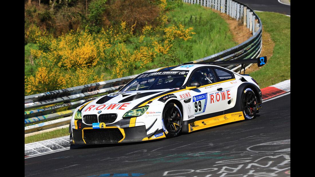 24h-Rennen Nürburgring 2017 - Nordschleife - Startnummer 99 - BMW M6 GT3 - Rowe Racing - Klasse SP 9