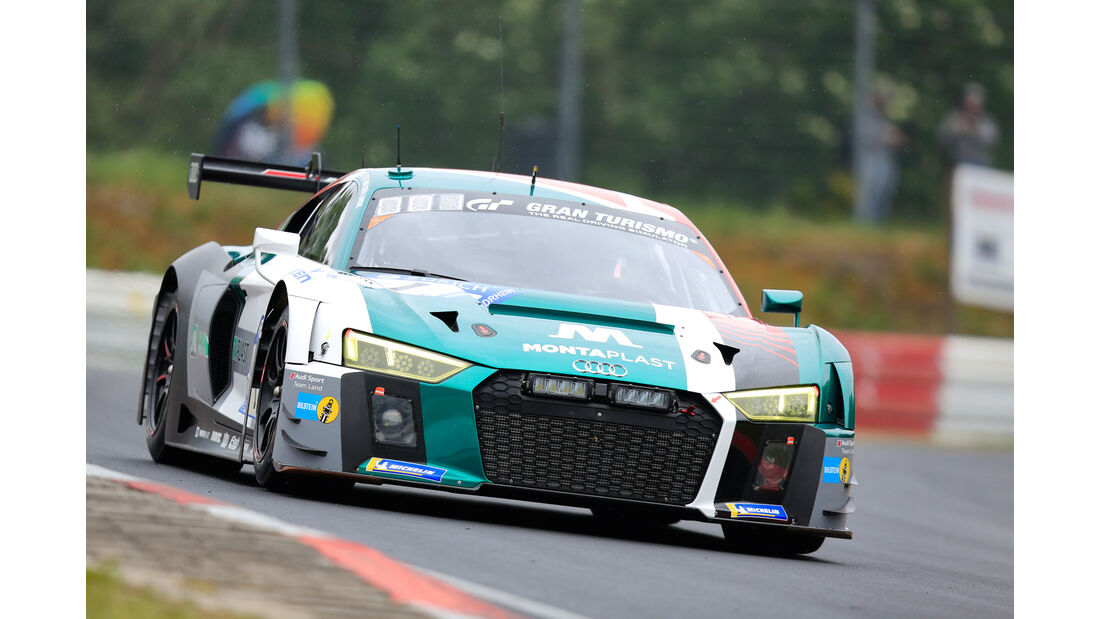 24h-Rennen Nürburgring 2018 - Nordschleife - Audi R8 LMS - Startnummer #1
