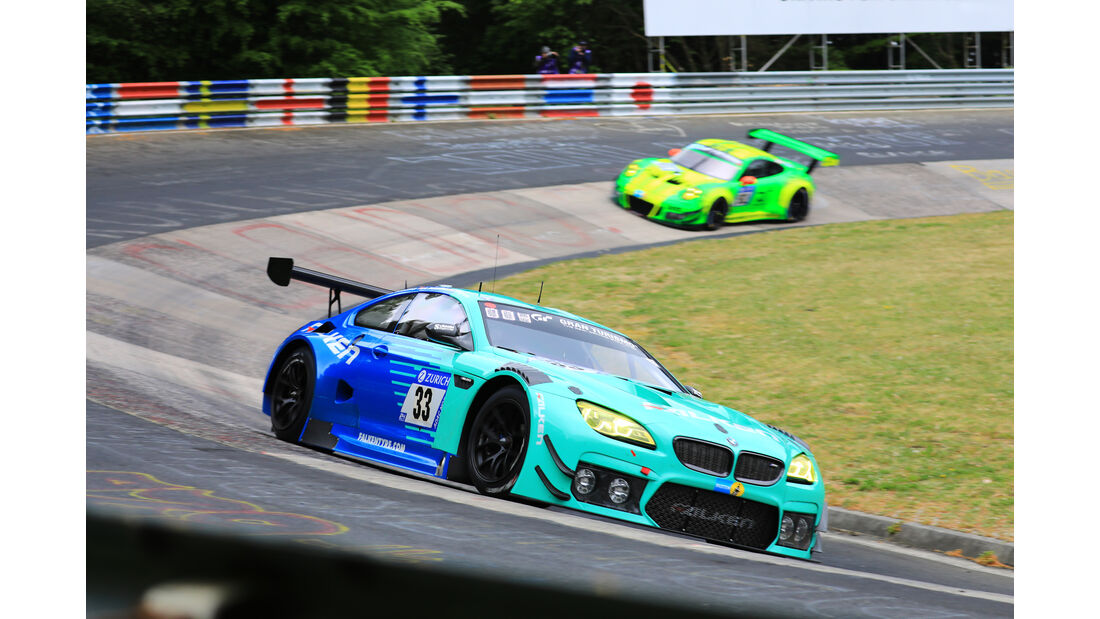24h-Rennen Nürburgring 2018 - Nordschleife - BMW M6 GT3 - Startnummer #33