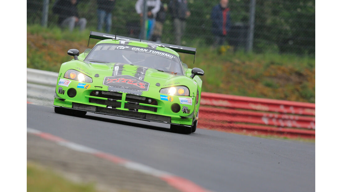 24h-Rennen Nürburgring 2018 - Nordschleife - Dodge Viper CC - Startnummer #13