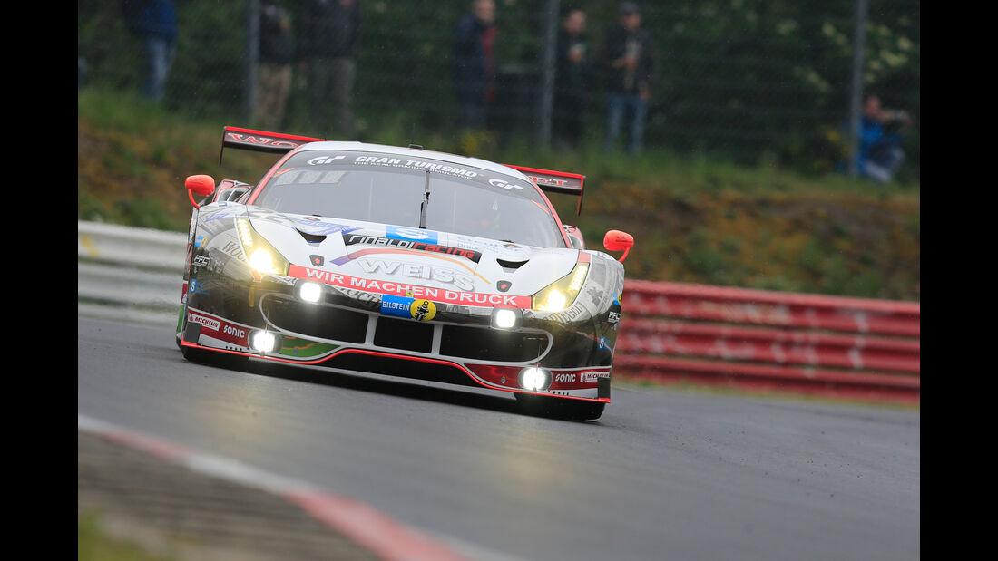 24h-Rennen Nürburgring 2018 - Nordschleife - Ferrari 488 GT3 - Startnummer #22