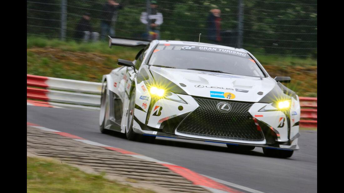 24h-Rennen Nürburgring 2018 - Nordschleife - Lexus LC - Startnummer #56