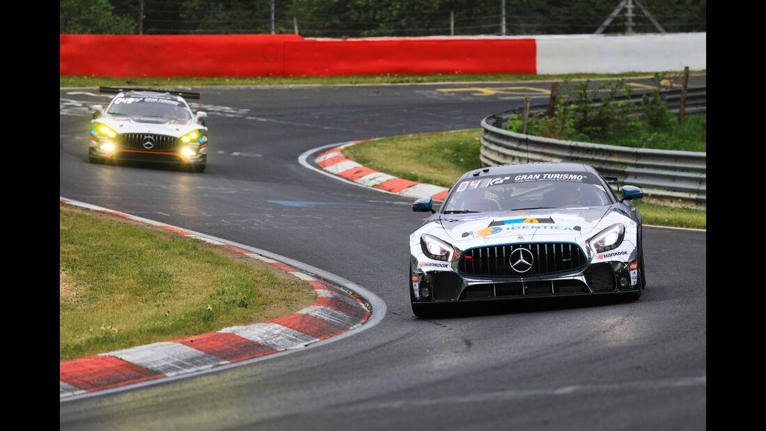 24h-Rennen Nürburgring 2018 - Nordschleife - Mercedes-AMG GT3 - Mercedes-AMG GT4 - Startnummer #66