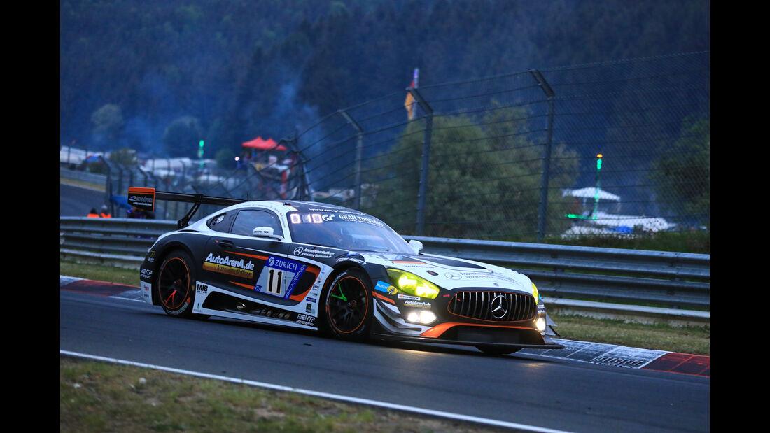24h-Rennen Nürburgring 2018 - Nordschleife - Mercedes-AMG GT3 - Startnummer #11