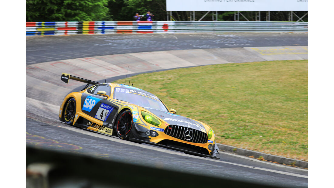 24h-Rennen Nürburgring 2018 - Nordschleife - Mercedes-AMG GT3 - Startnummer #4