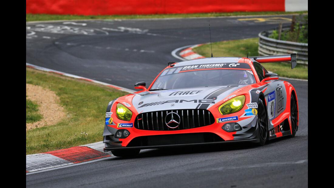24h-Rennen Nürburgring 2018 - Nordschleife - Mercedes-AMG GT3 - Startnummer #47