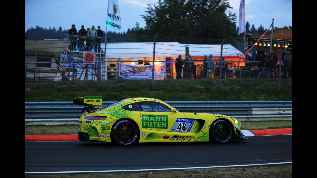 24h-Rennen Nürburgring 2018 - Nordschleife - Mercedes-AMG GT3 - Startnummer #48