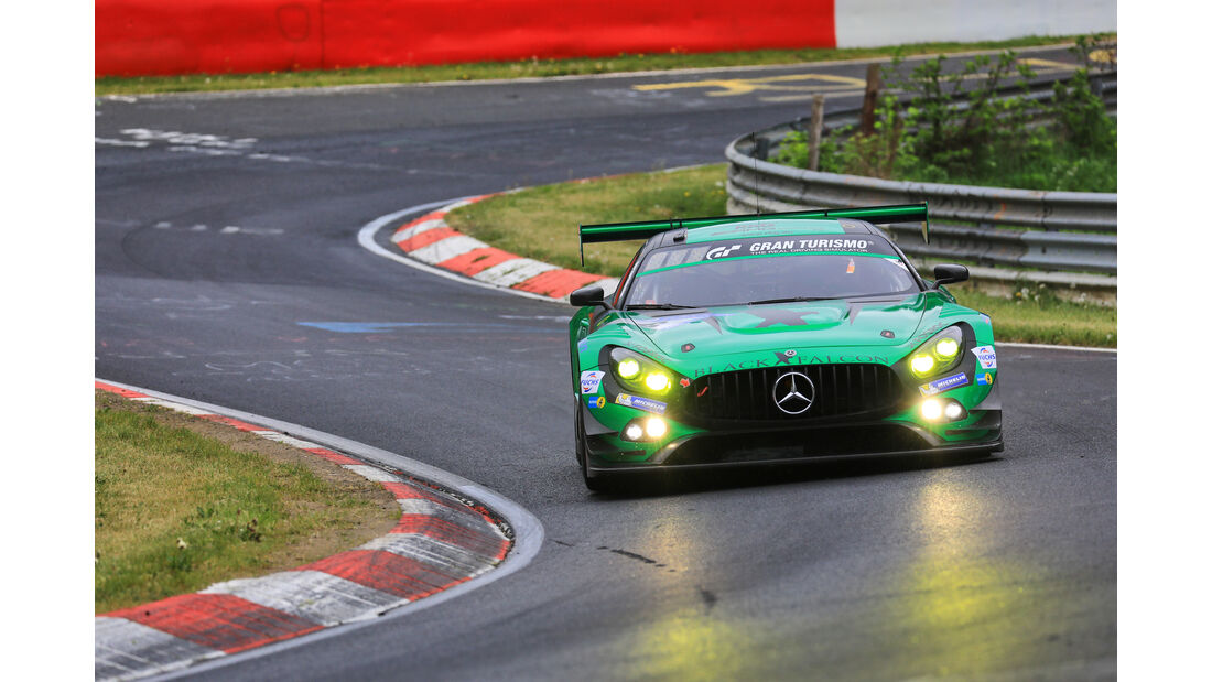 24h-Rennen Nürburgring 2018 - Nordschleife - Mercedes-AMG GT3 - Startnummer #6