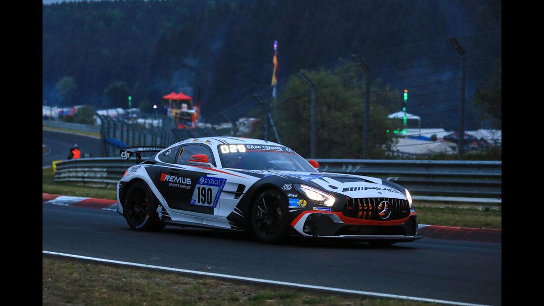 24h-Rennen Nürburgring 2018 - Nordschleife - Mercedes-AMG GT4 - Startnummer #190