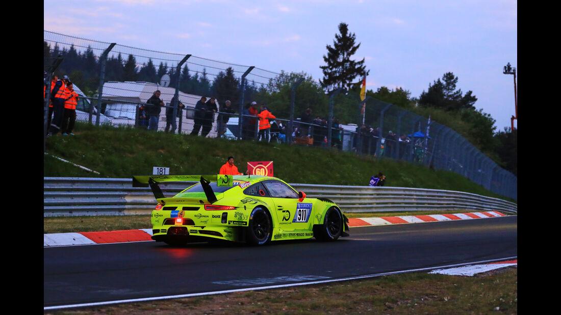 24h-Rennen Nürburgring 2018 - Nordschleife - Porsche 911 GT3 R - Startnummer #911