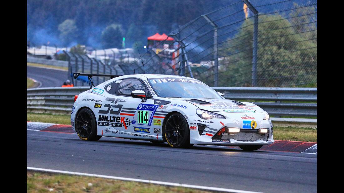 24h-Rennen Nürburgring 2018 - Nordschleife - Startnummer #114 - Toyota GT86 - Manheller Racing / Milltek Sport - SP3