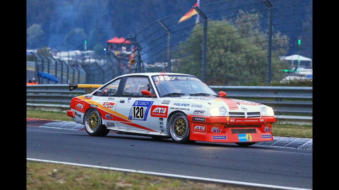 24h-Rennen Nürburgring 2018 - Nordschleife - Startnummer #120 - Opel Manta - Kissling Motorsport/Beckmann - SP3