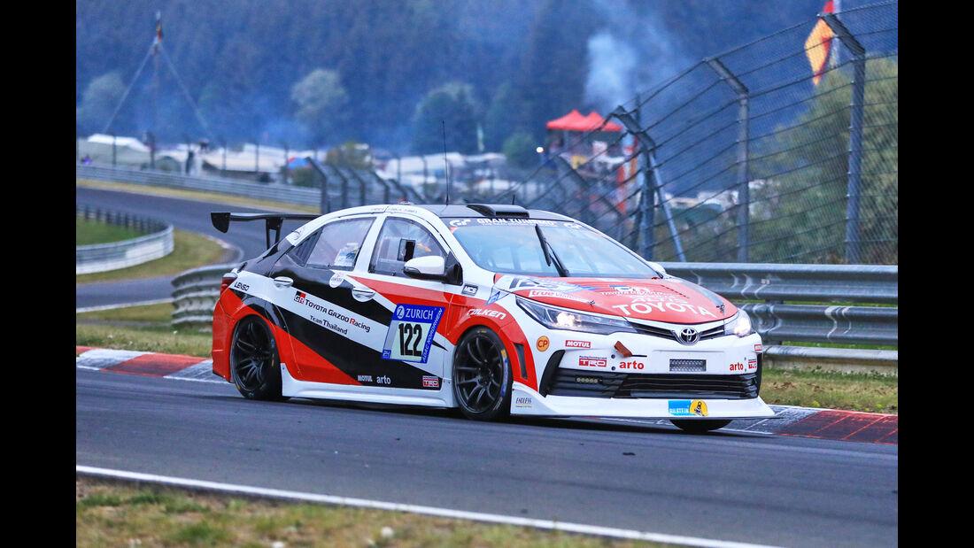 24h-Rennen Nürburgring 2018 - Nordschleife - Startnummer #122 - Toyota Corolla Altis - Toyota Gazoo Racing Team Thailand - SP3