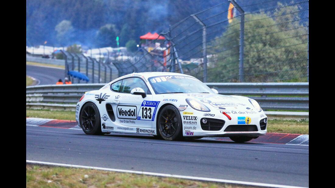 24h-Rennen Nürburgring 2018 - Nordschleife - Startnummer #133 - Porsche Cayman S - Pixum Team Adrenalin Motorsport - V6