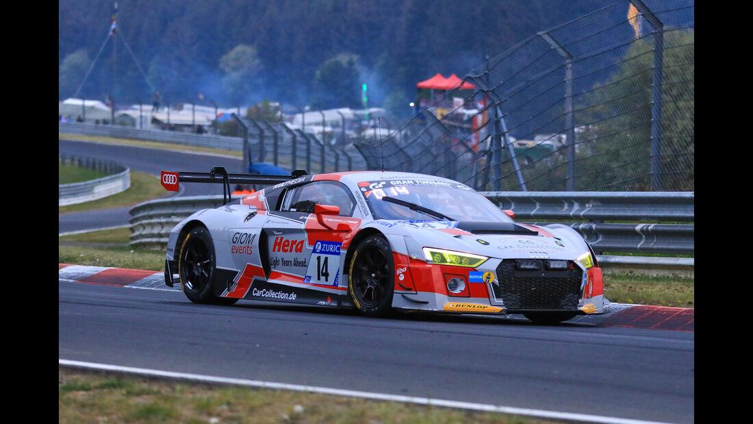 24h-Rennen Nürburgring 2018 - Nordschleife - Startnummer #14 - Audi R8 LMS - Car Collection Motorsport - SP9