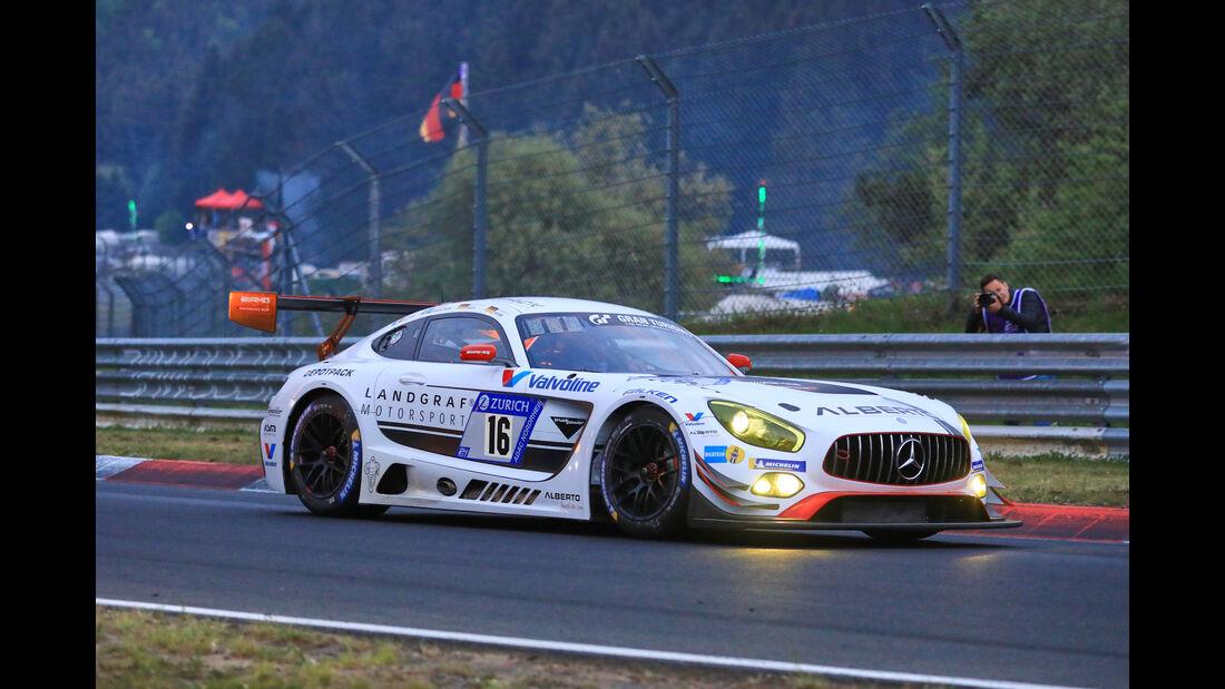 24h-Rennen Nürburgring 2018 - Nordschleife - Startnummer #16 - Mercedes-AMG GT3 - Landgraf Motorsport - SP9