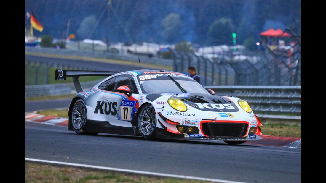 24h-Rennen Nürburgring 2018 - Nordschleife - Startnummer #17 - Porsche 911 GT3 R - KÜS Team75 Bernhard - SP9