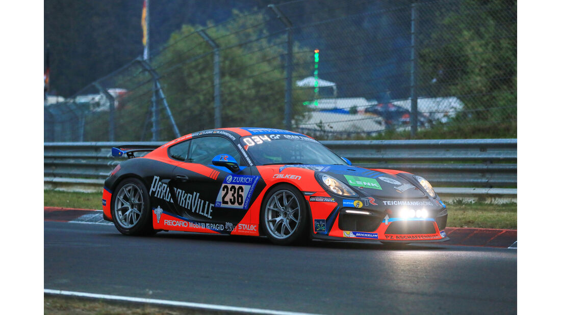 24h-Rennen Nürburgring 2018 - Nordschleife - Startnummer #236 - Porsche Cayman - Teichmann Racing - CUP 3