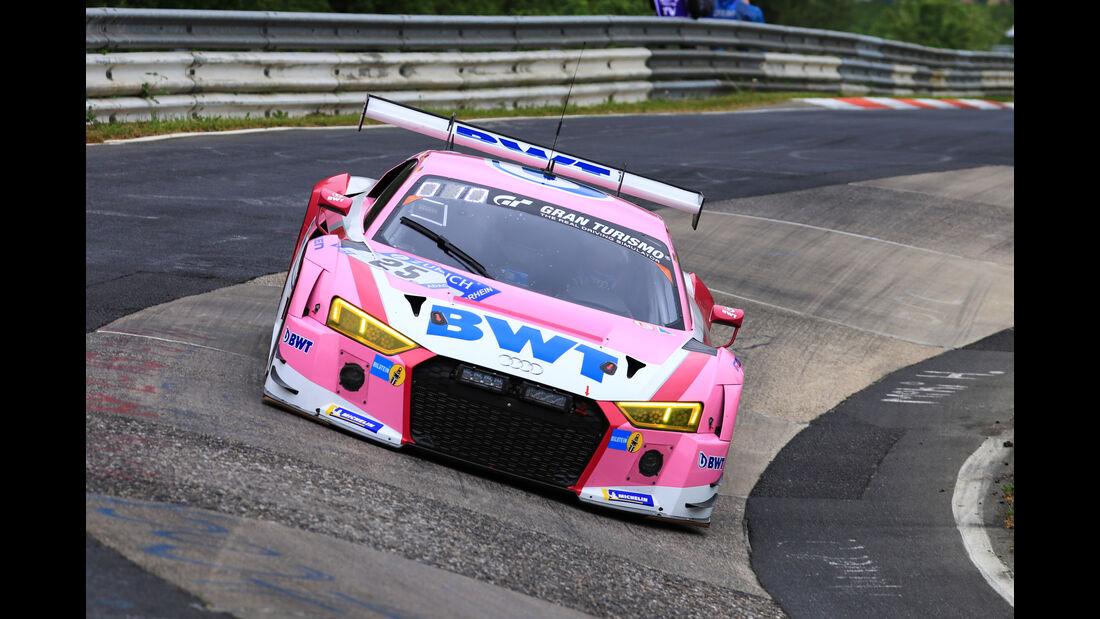 24h-Rennen Nürburgring 2018 - Nordschleife - Startnummer #25 - Audi R8 LMS - Audi Sport Team BWT - SP9
