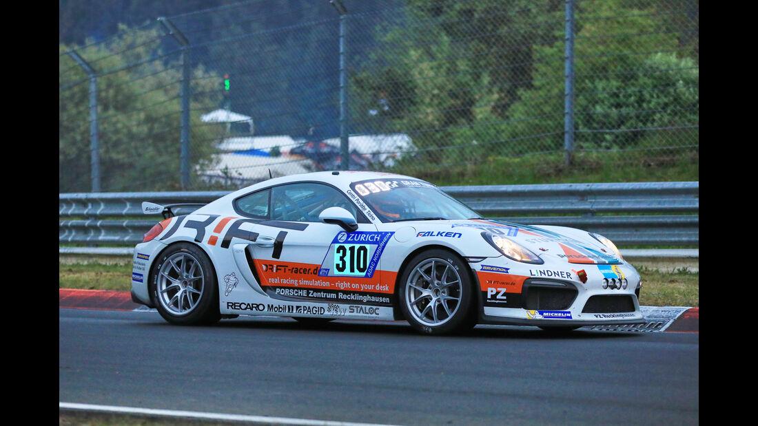 24h-Rennen Nürburgring 2018 - Nordschleife - Startnummer #310 - Porsche Cayman GT4 CS - Schmickler Performance powered by Ravenol - CUP3