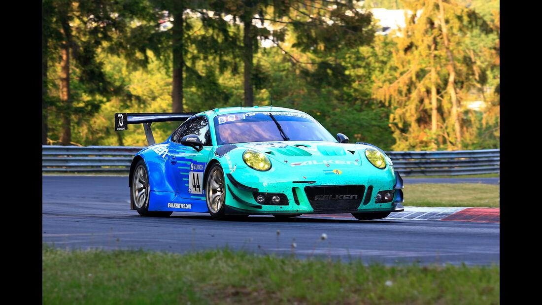 24h-Rennen Nürburgring 2018 - Nordschleife - Startnummer #44 - Porsche 911 GT3 R - Falken Motorsports - SP9
