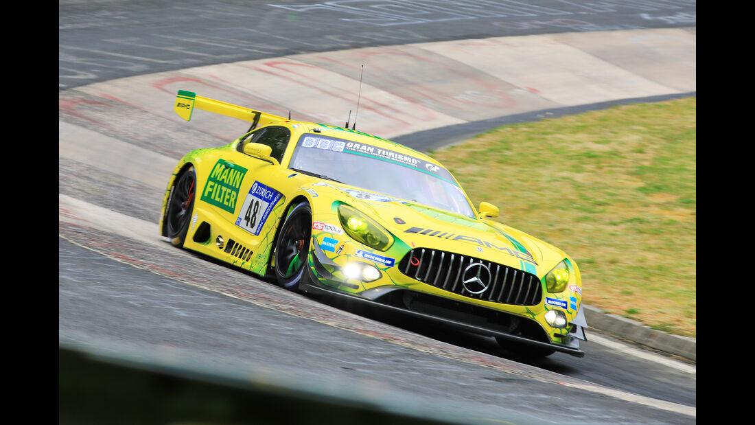 24h-Rennen Nürburgring 2018 - Nordschleife - Startnummer #48 - Mercedes-AMG GT3 - Mercedes-AMG Team Mann Filter - SP9