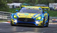 24h-Rennen Nürburgring 2018 - Nordschleife - Startnummer #5 - Mercedes-AMG GT3 - Mercedes-AMG Team Black Falcon - SP9