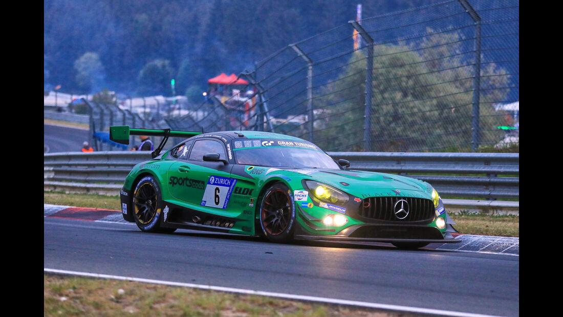 24h-Rennen Nürburgring 2018 - Nordschleife - Startnummer #6 - Mercedes-AMG GT3 - Black Falcon - SP9