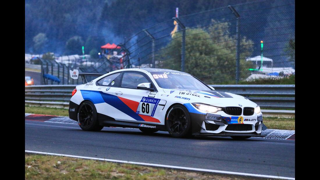 24h-Rennen Nürburgring 2018 - Nordschleife - Startnummer #60 - BMW M4 GT4 - Securtal Sorg Rennsport - SP10