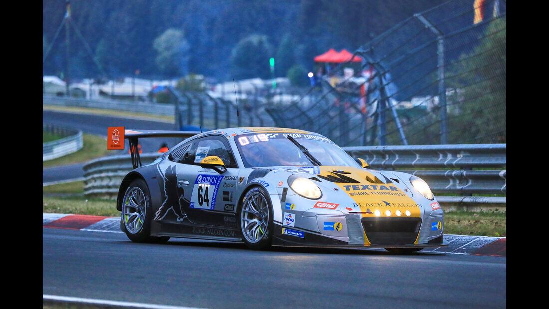 24h-Rennen Nürburgring 2018 - Nordschleife - Startnummer #64 - Porsche 991 GT3 Cup MR II - Black Falcon Team TMD Friction - SP7