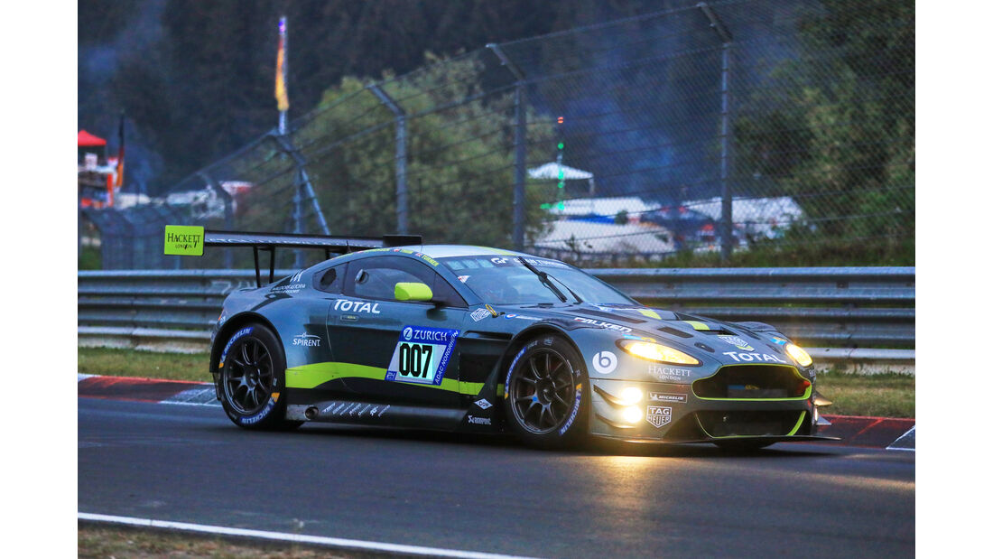24h-Rennen Nürburgring 2018 - Nordschleife - Startnummer #7 - Aston Martin Vantage GT3 - Aston Martin Racing - SP9