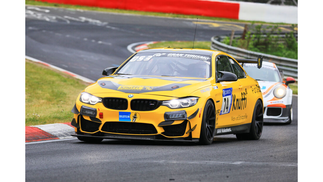 24h-Rennen Nürburgring 2018 - Nordschleife - Startnummer #74 - BMW M4 GT4 - Walkenhorst Motorsport - SP10
